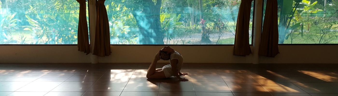 Bhujangasana variation Ose Yoga