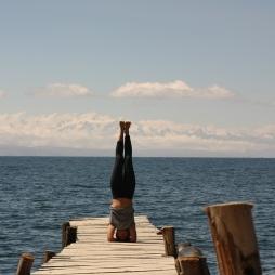 Sirsasana or headstand
