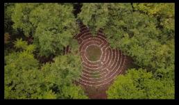 Labyrinthe de méditation - Week-end Yoga avec Claire